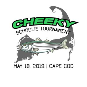 Cheeky Schoolie Tournament Logo, May 18, 2019, Cape Cod, MA