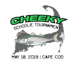 Cheeky Schoolie Tournament Logo, May 18, 2019, Cape Cod, MA