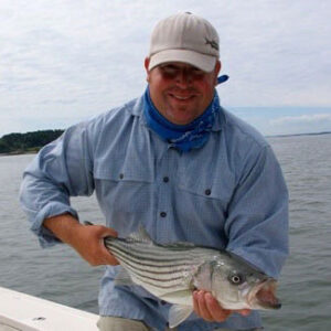 Captain Eric Wallace, Guide / Owner of Coaster Fly Anger, Cross Current Ambassador